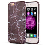 6 6s Fashion Marble Stone Image Painted Phone Cases For iPhone 7 6 6s Plus SE 5 5s Case Capa Soft TPU Silicone Back Cover Funda - A Sheek Boutique