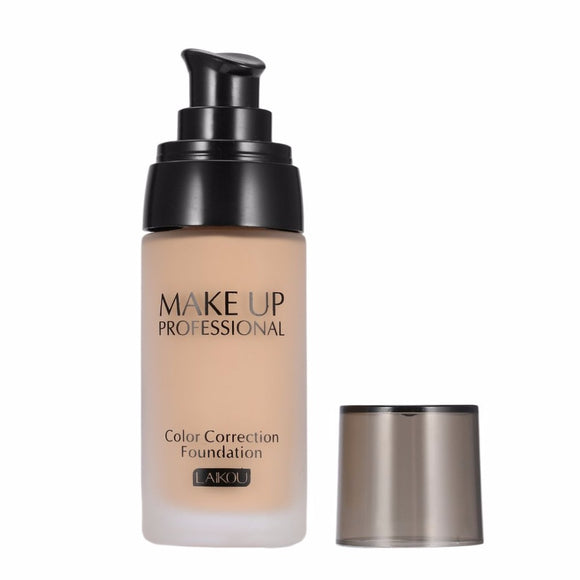 Whitening Flawless Coverage Liquid Foundation Concealer Moisturizer Oil-control Long Lasting Waterproof