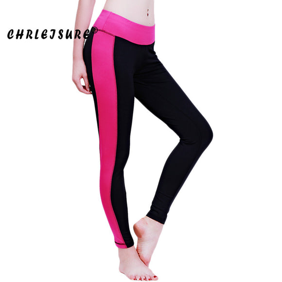 Color Patchwork Quick-drying Fitness Leggings