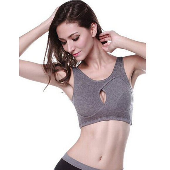 Padded Bra Athletic Fitness Sports Stretch Bra