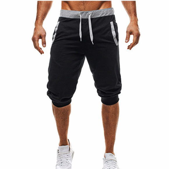 Calf-Length Shorts Fashion Gyms Joggers Short Sweatpants Casual Shorts