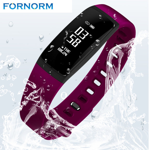 Bluetooth 4.0 Smart Watch V07 Blood Pressure Heart Rate Call Alert Bracelet Smartphone Waterproof for iOS Android Phone