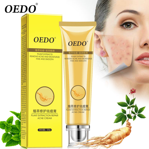 Acne Cream Ginseng Ance Treatment Cream Whitening 20g