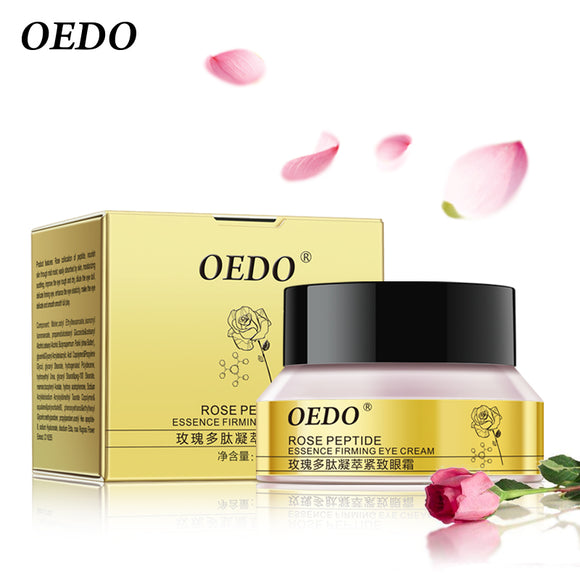 Rose Peptide Firming Eye Cream Moistourizing Anti-Puffiness Dark Circle Anti-Wrinkle Eye Serum