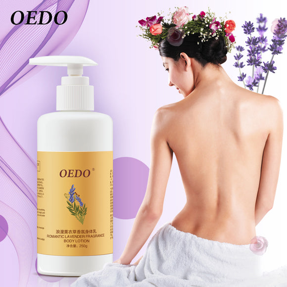 Lavender Body Lotion Nourishing Moisturizing Oil-Control Whitening Antibacterial Anti-chapping