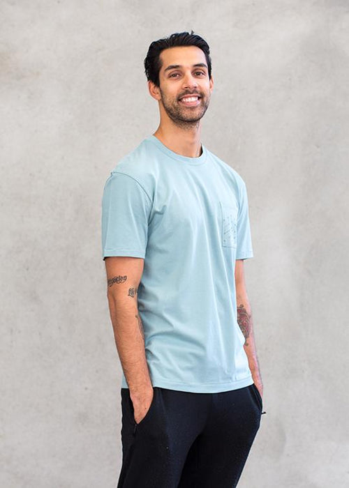 T-shirts - Relaxed Pocket Crew Neck Tee