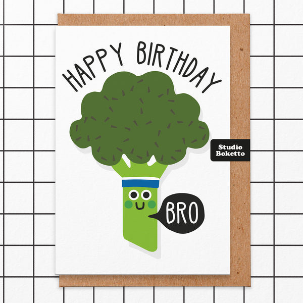 Bro' Birthday Card