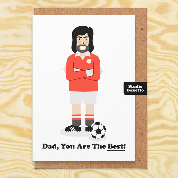Bestie Fathers Day Card