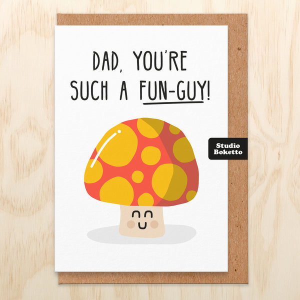 Fun-Guy Father's Day Card