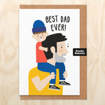 Shoulders Father's Day Card