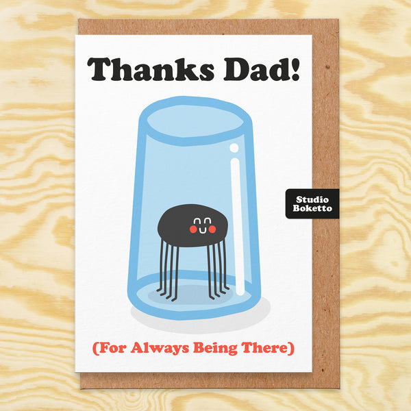 Thanks Dad (For Always Being There) Father's Day Card