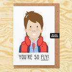 You're So Fly Valentines Card