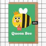 Queen Bee Mothers Day Card