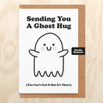 Ghost Hug Get Well Card