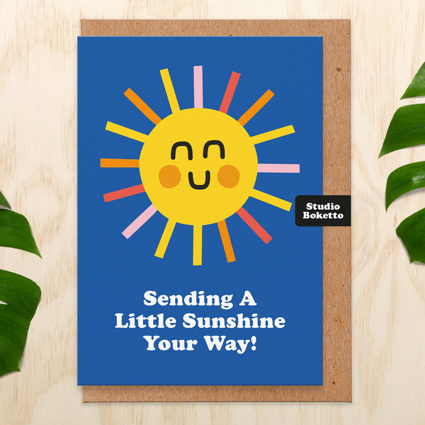 Sending Sunshine Thinking of You Card