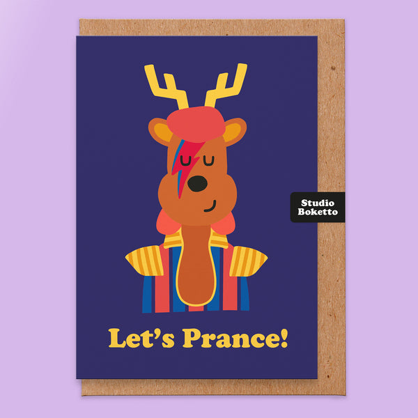 Let's Prance (David Bowie) Christmas Card