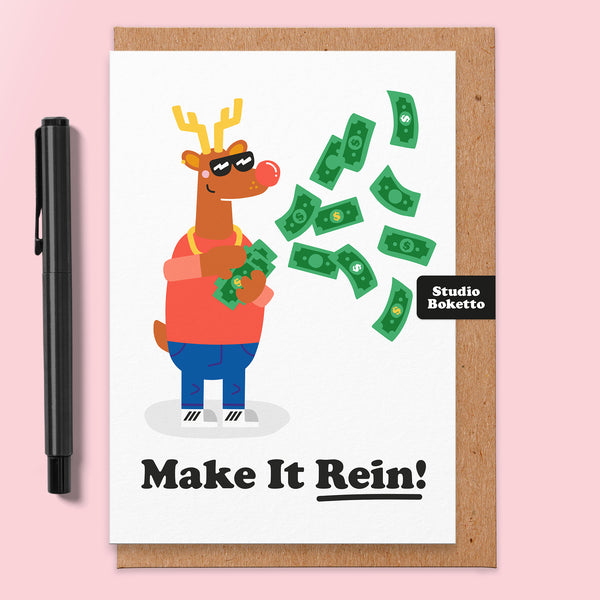 Make It Rein Christmas Card