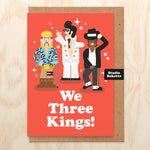 We Three Kings (Tiger King Version) Christmas Card