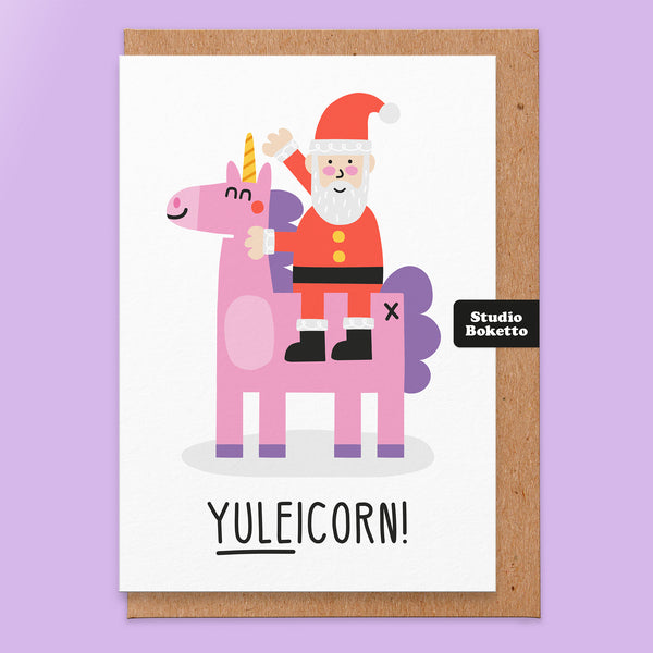 Yuleicorn Christmas Card