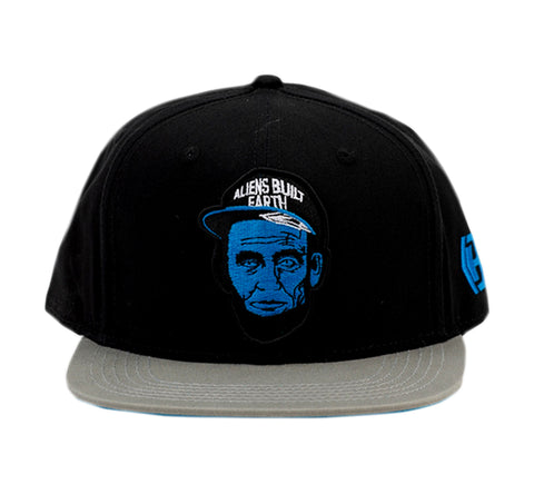 Aliens Built Earth Snapback