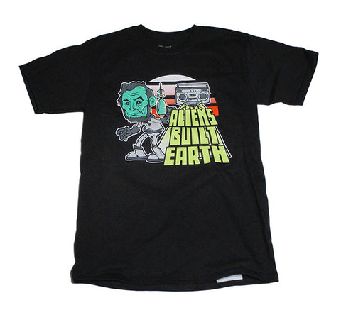 Aliens Built Earth X Awol One X Champion Tee