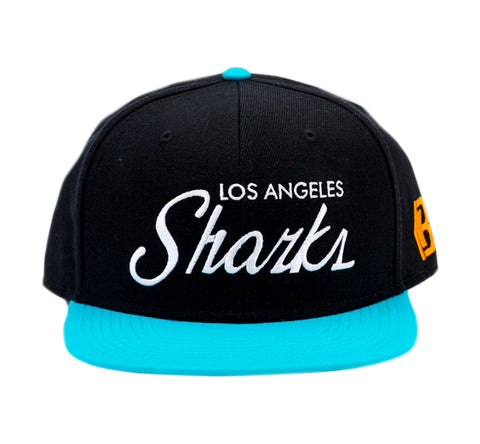 Los Angeles Sharks Turq N Black