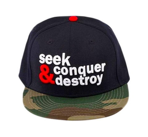 SEEK CONQUER & DESTROY CAMO