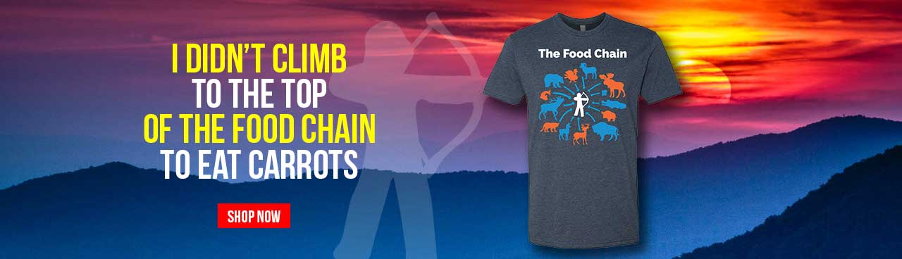 The Food Chain T-Shirt, by Busted Rack