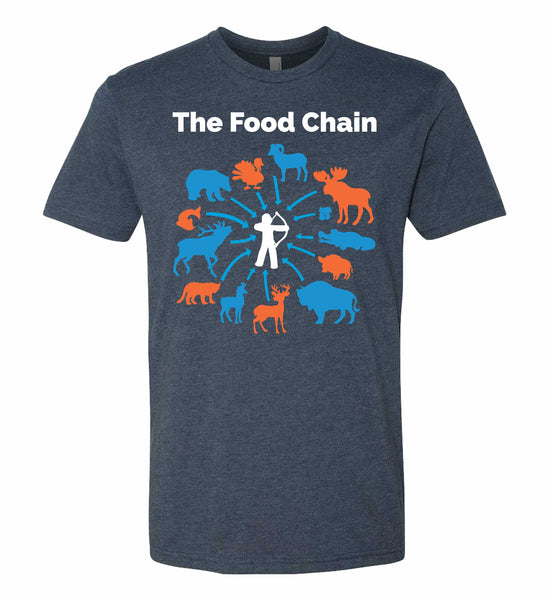 The Food Chain T-Shirt in Navy
