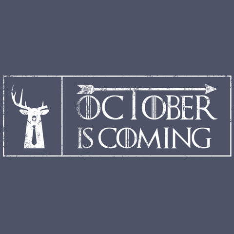 October Is Coming