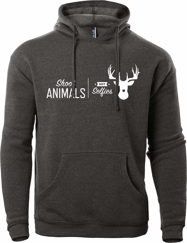 Shoot Animals, Not Selfies Hoodie
