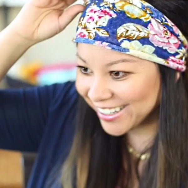 Do you know how to turn your headband into a Turban?