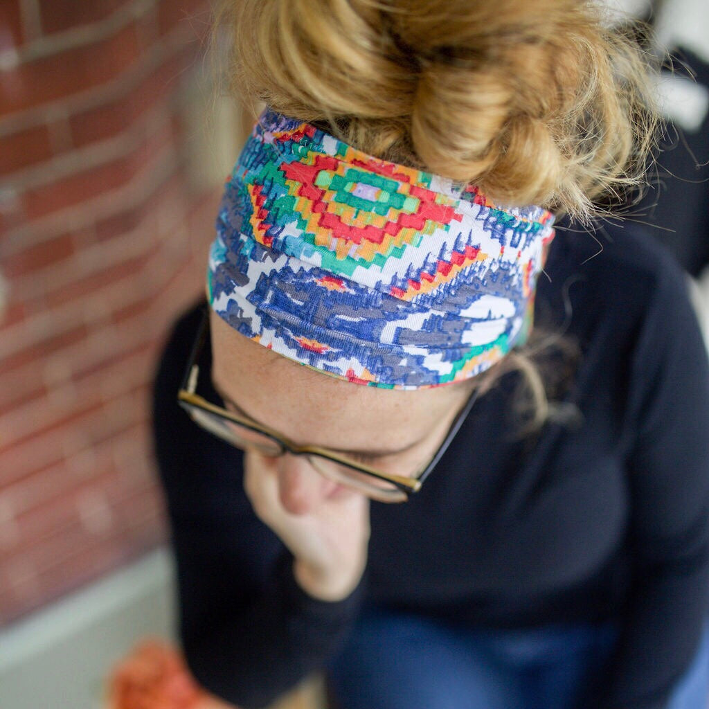 Bright Aztec Headband