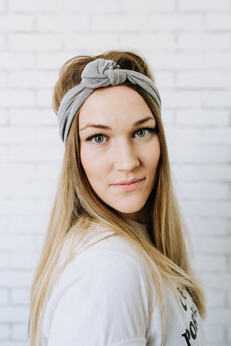Light Heather Grey headband