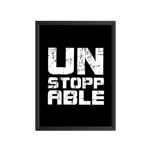 Unstoppable Wall Frame | PF032