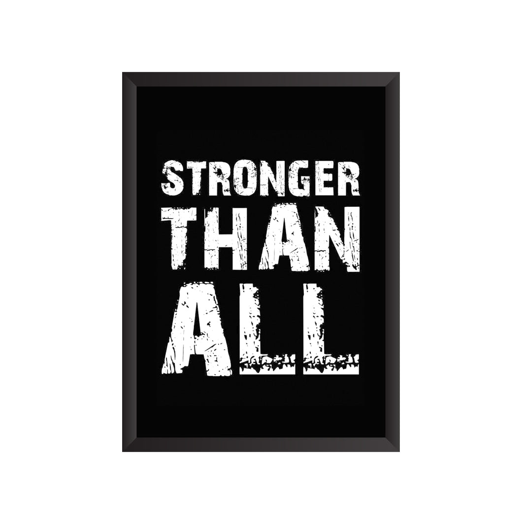 Stronger Than All Wall Frame | PF033