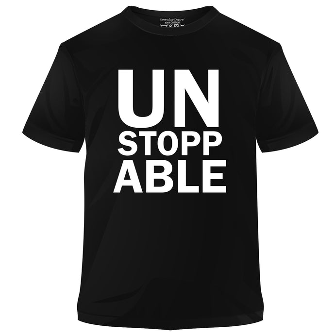 Unstoppable Cotton T-shirt