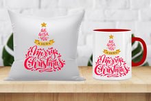 Christmas Combo: includes Mug, Cushion(12x12 with filler)