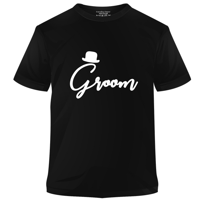 Groom Cotton T-shirt | T069