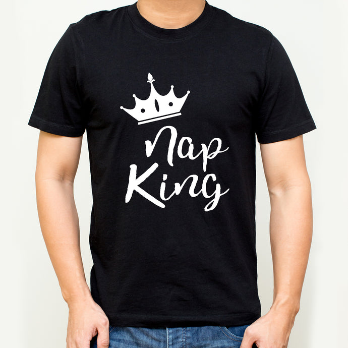Nap King Cotton T-shirt | T044