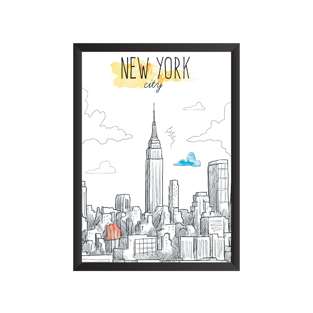 New York Wall Frame | PF048