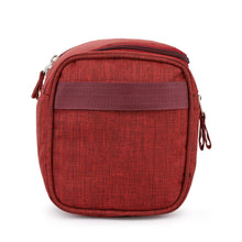 Hanging Travel Toiletry Bag Organizer and Dopp Kit - Red