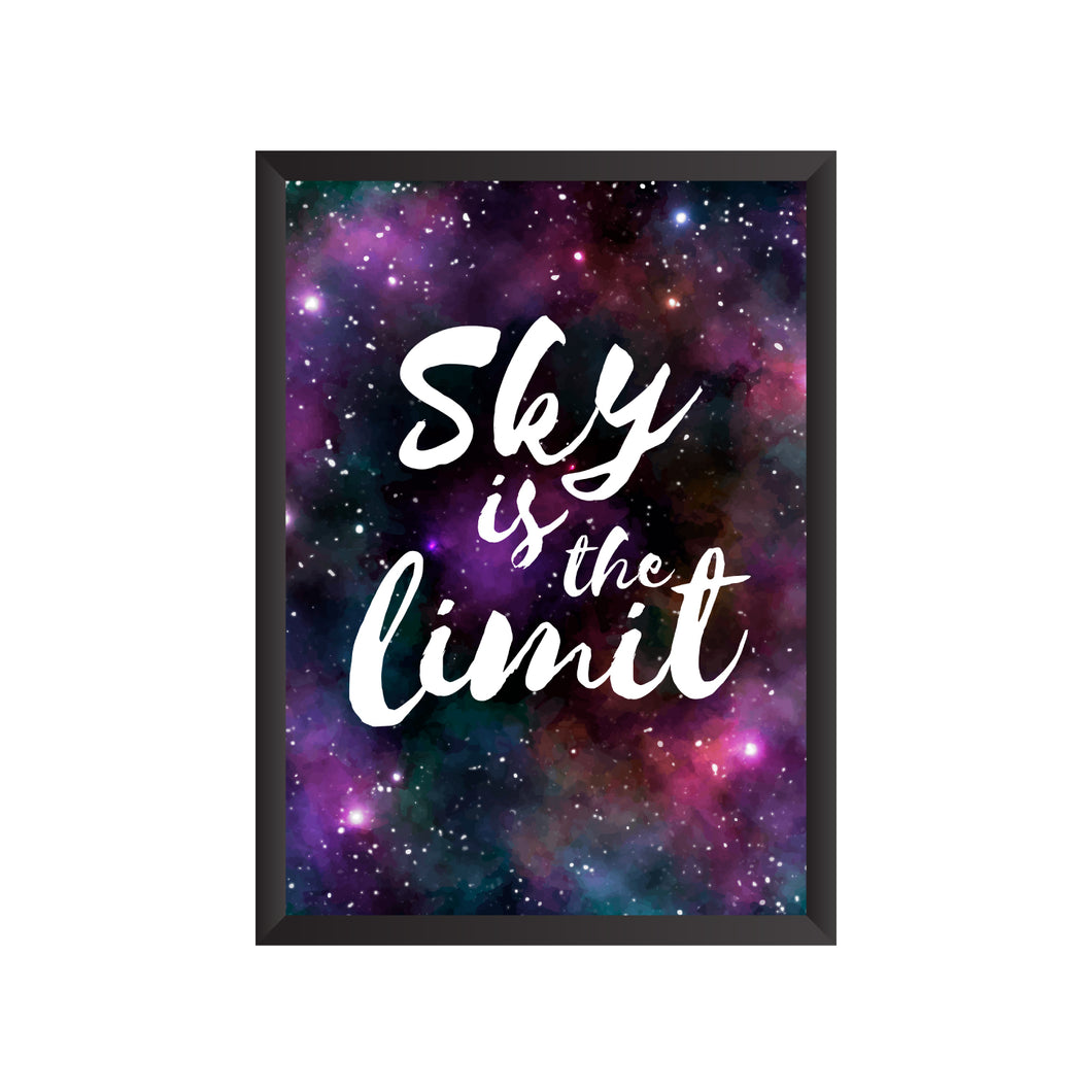 Sky is the Limit Wall Frame | PF040