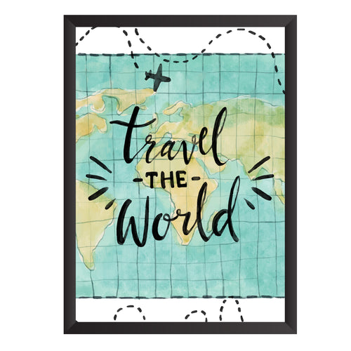 Travel the World Wall Frame | PF058