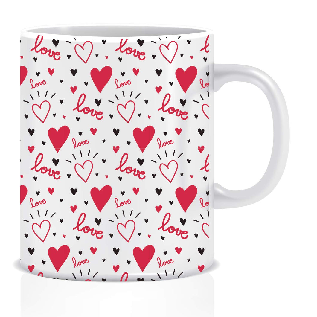 Love Hearts Coffee Mug | ED1427