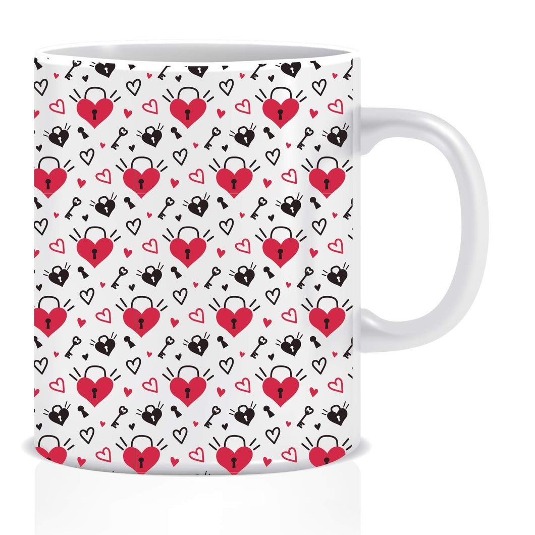 Love Locks Coffee Mug | ED1428