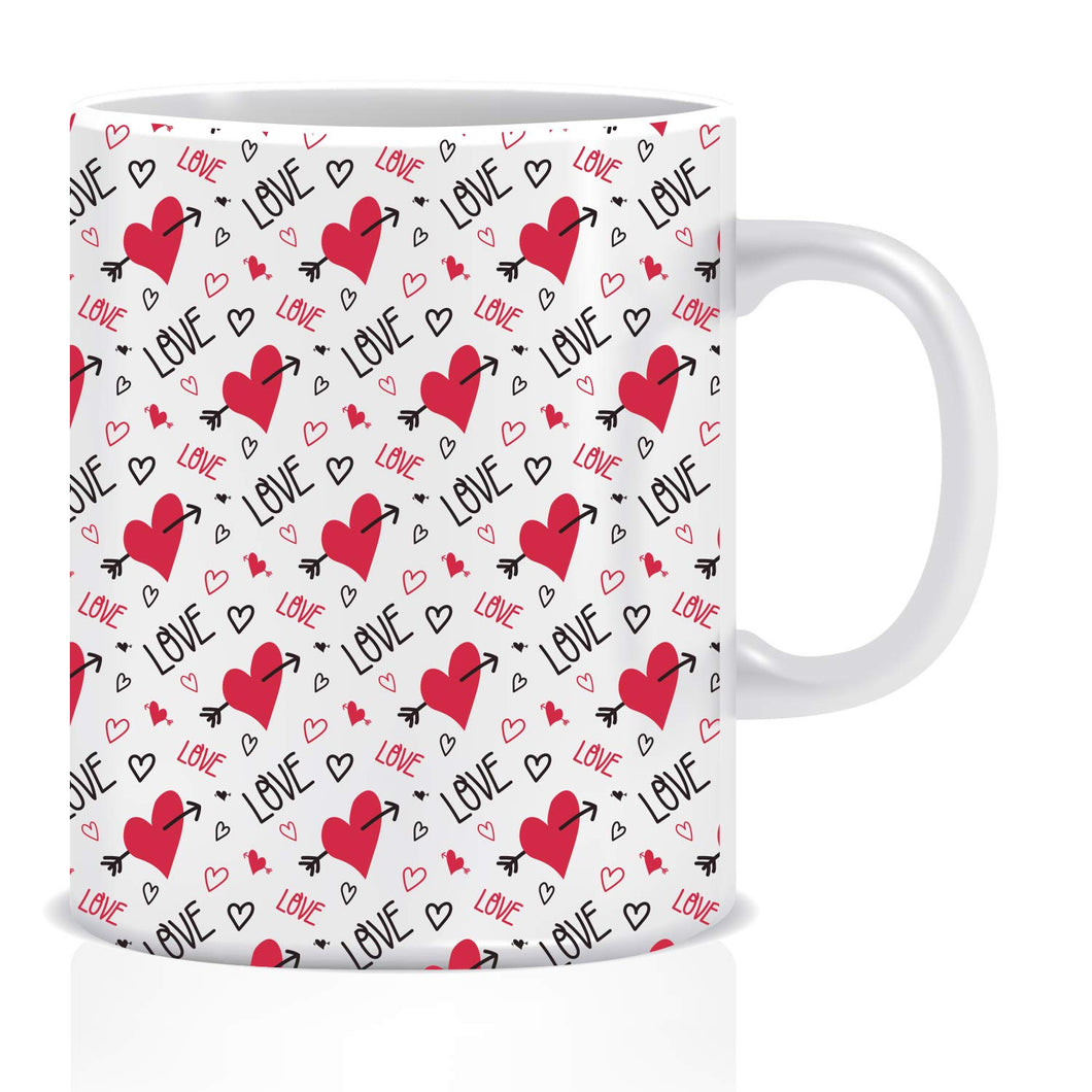 Love Hearts Coffee Mug | ED1431