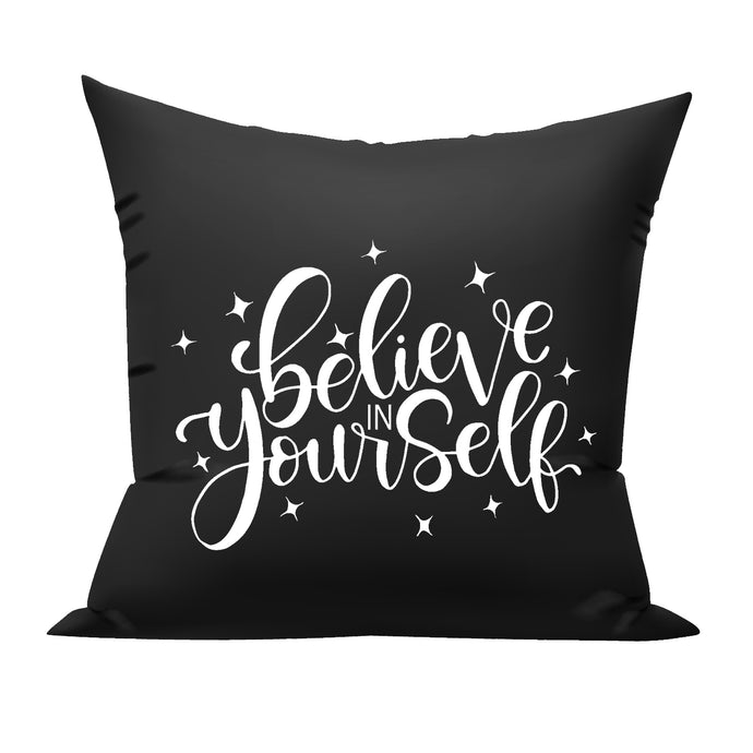 believe in yourself cushion