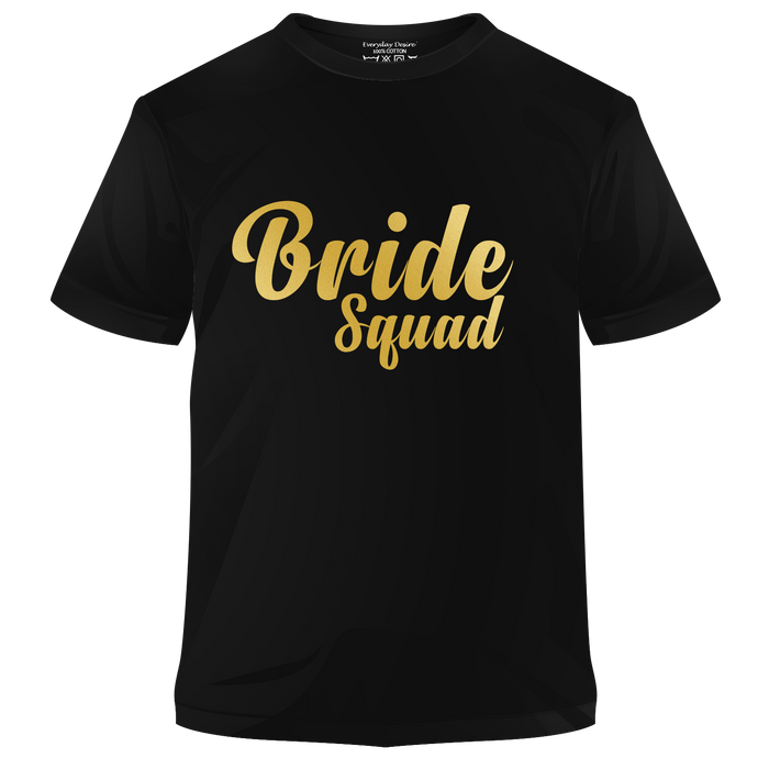 Bride Squad Cotton T-shirt | T064