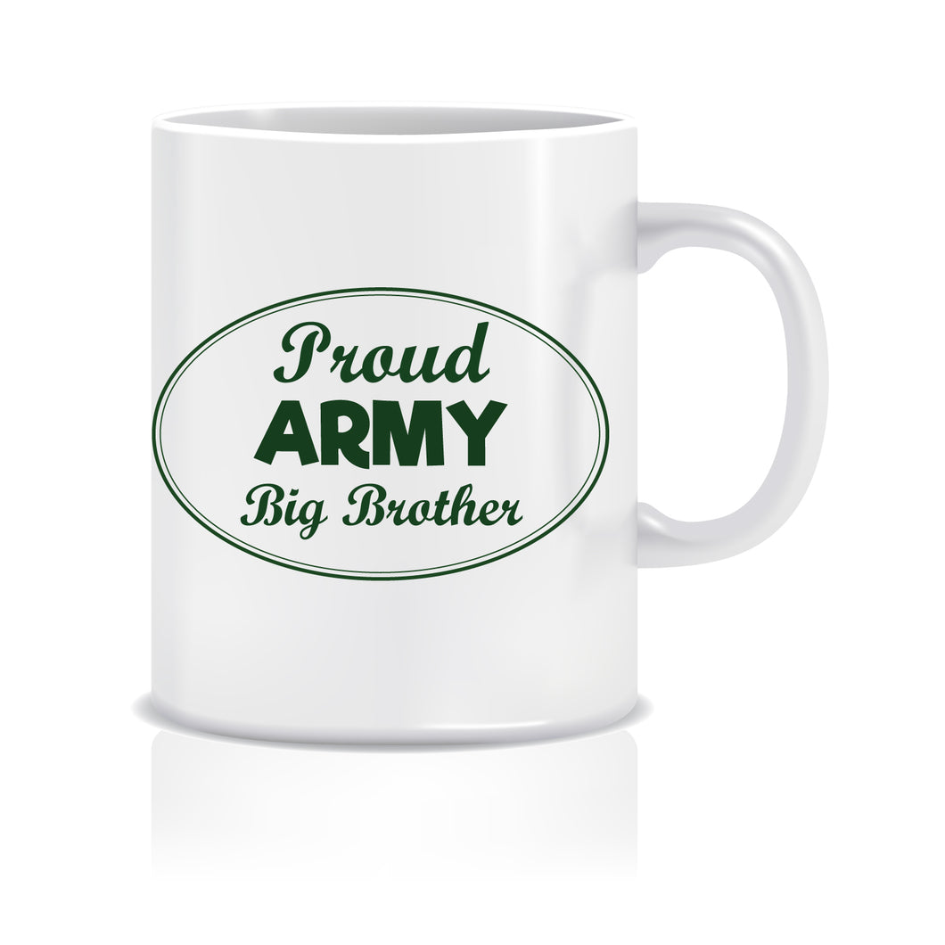 Army Big Brother Ceramic Coffee Mug ED048